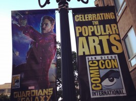 Guardians of the Galaxy banner gaslamp 2014 OCC