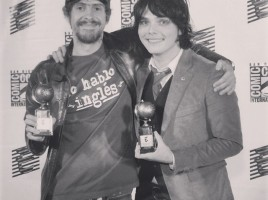 Gerard Way Umbrella Academy Eisner Award
