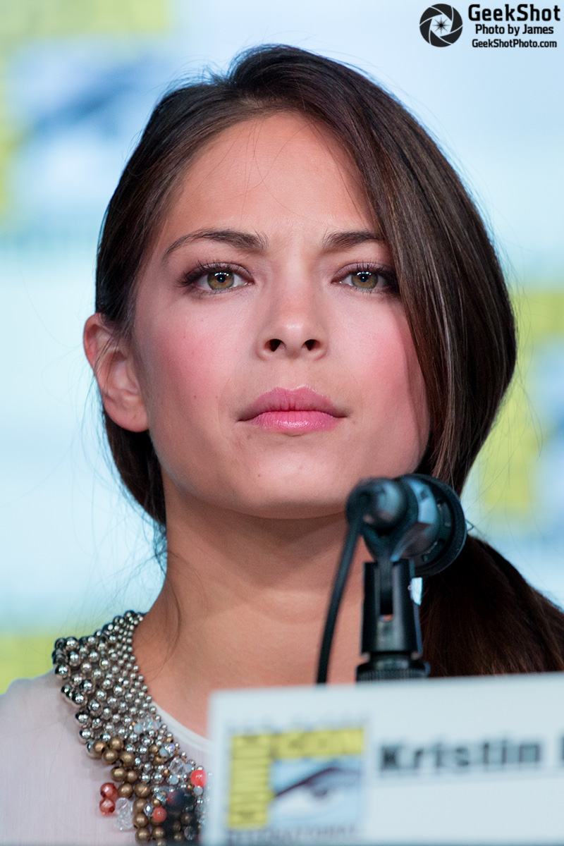 GeekShot Exclusive Series Vol 2 Week 7 - Kristin Kreuk Women Kick Ass panel Ballroom 20
