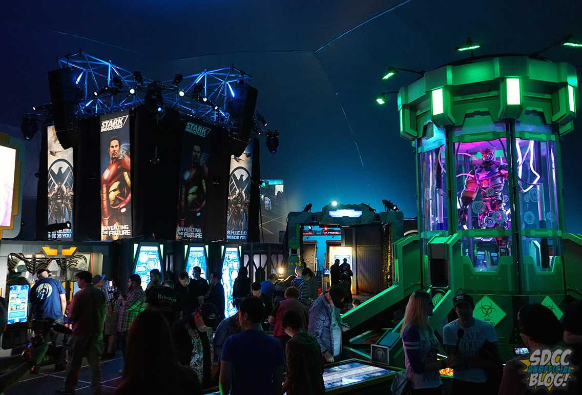 Marvel Experience interior