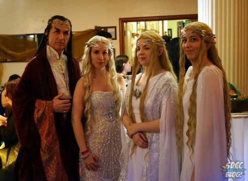 Lord of the Rings Hobbit Party Elves