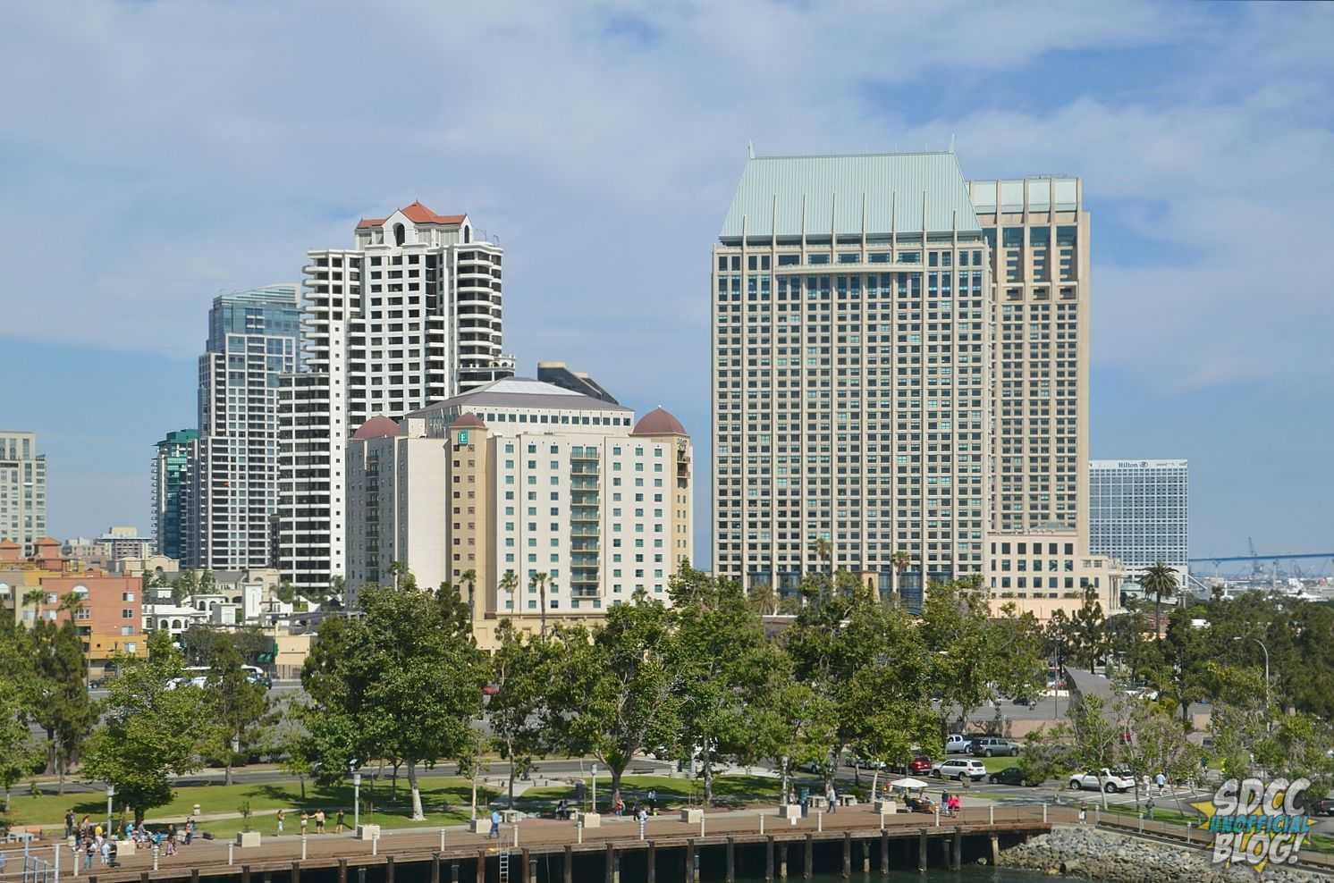 San Diego Hotels City View - Hyatt Embassy Hilton Early Bird