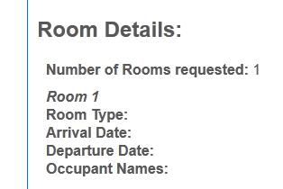 blank room details