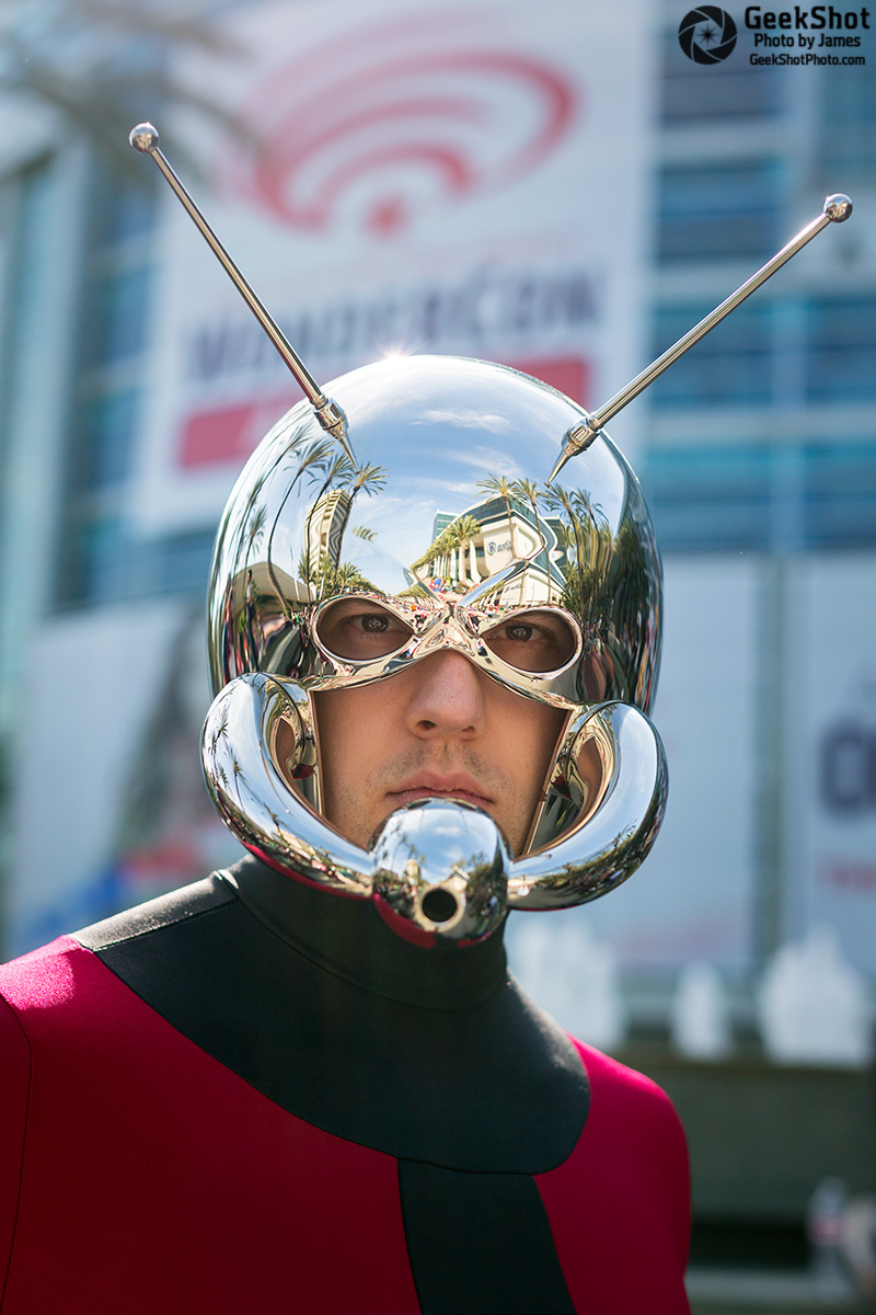 GeekShot Exclusive Series Vol 2 Week 15 - Ant Man Marvel Cosplay WonderCon Anaheim
