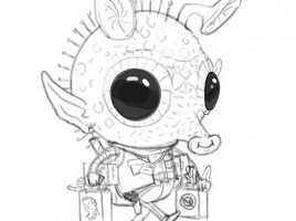 Mike Mitchell Exclusive Greedo Print