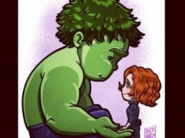 Lord Mesa's Hulk & Black Widow