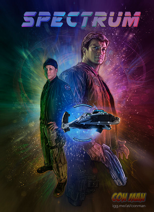 spectrum Con Man Alan Tudyk Nathan Fillion
