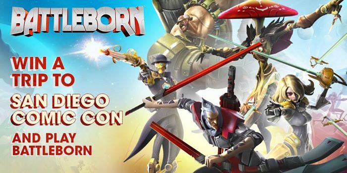 Battleborn SDCC Facebook Contest