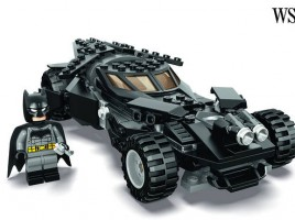 Batman and Batmobile Lego Preview