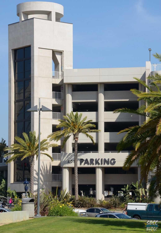 Hilton Parking Garage - Parking Sign