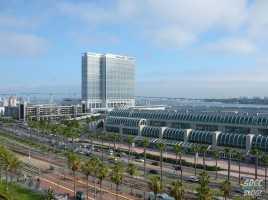 Convention Center Hilton Bayfront Hotel Coronado Bridge Traffic Street View