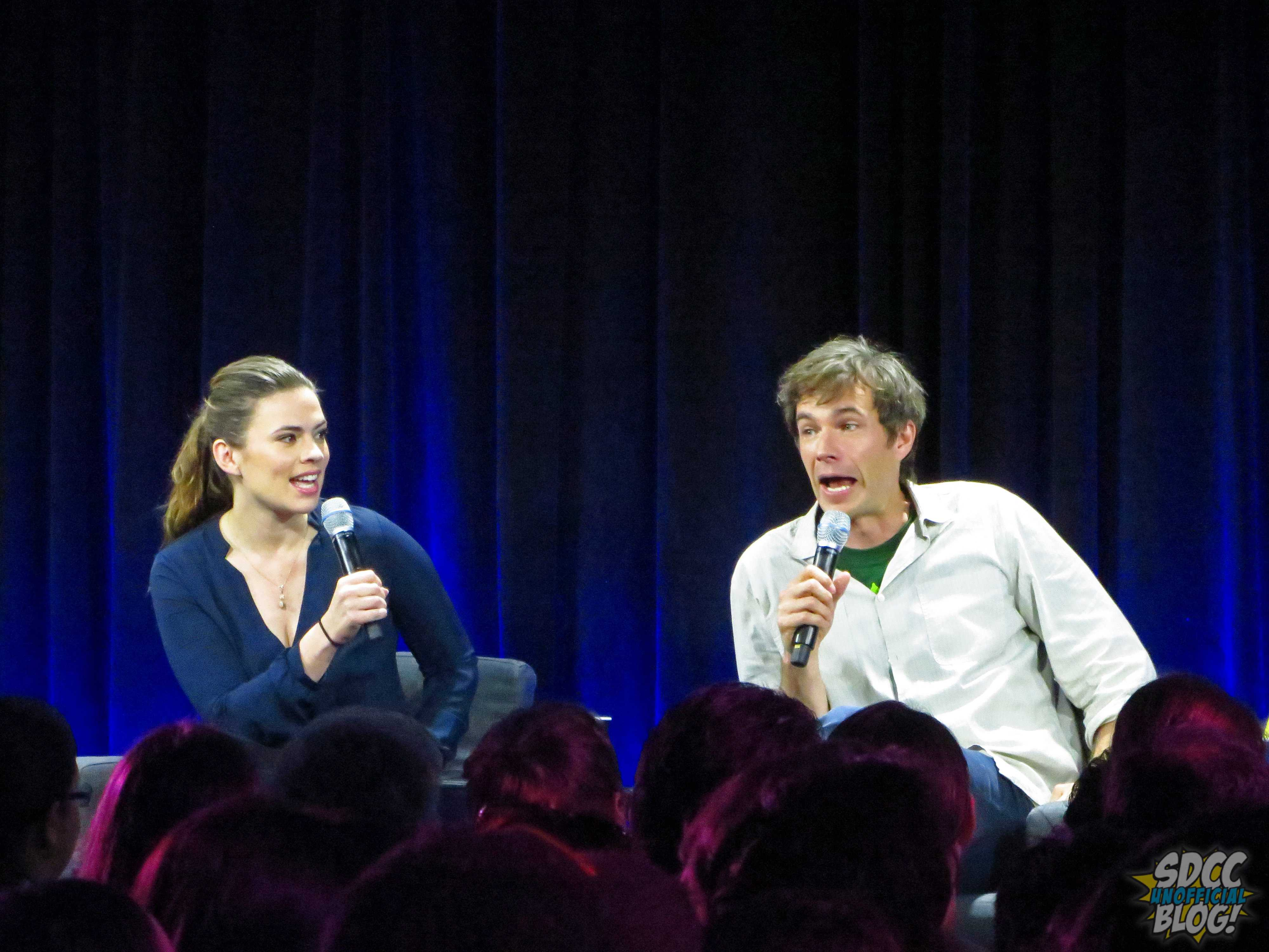 nerd hq james darcy hayley atwell nerd hq panel