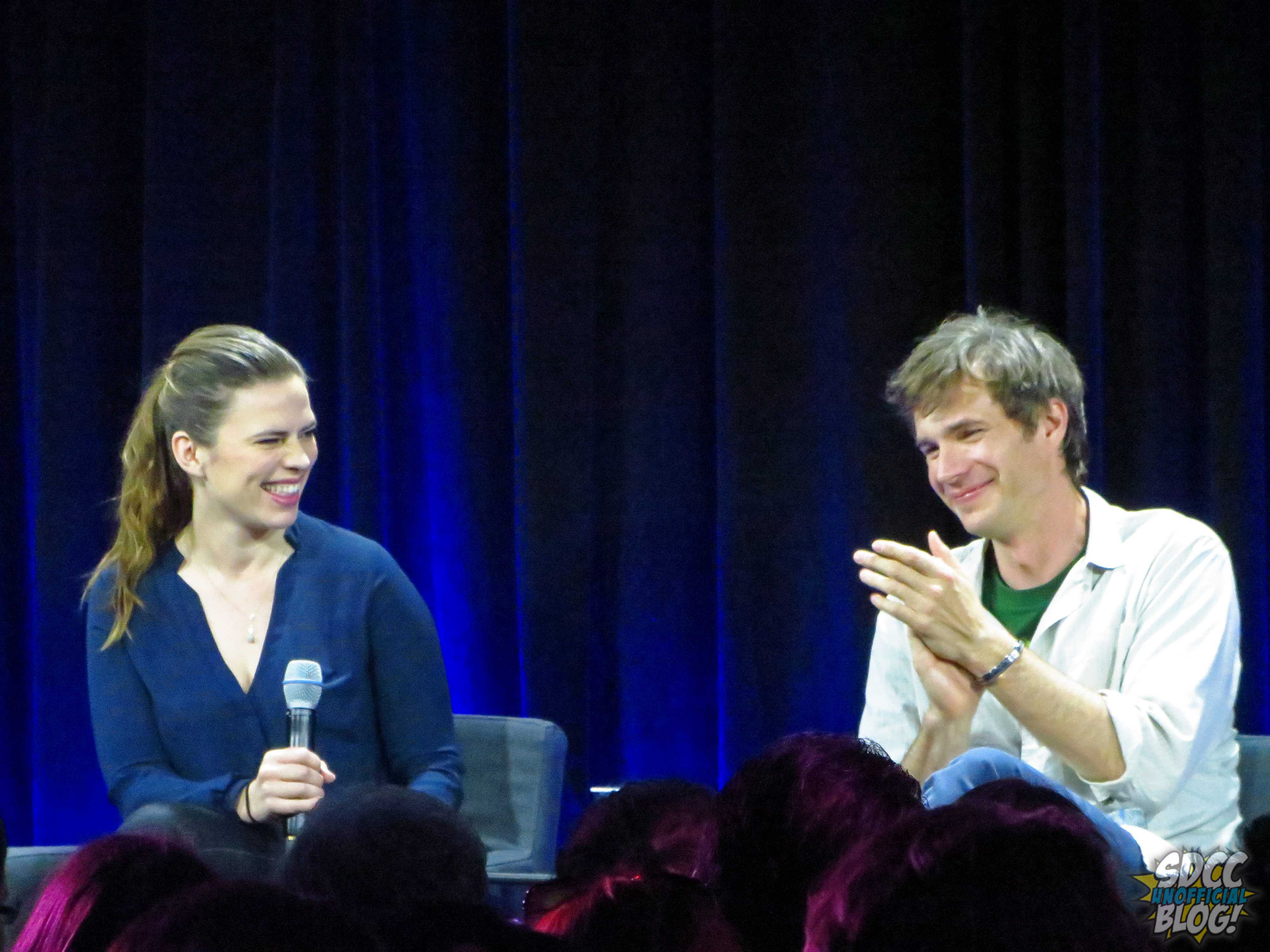 nerd hq hayley atwell james darcy marvel tv panel