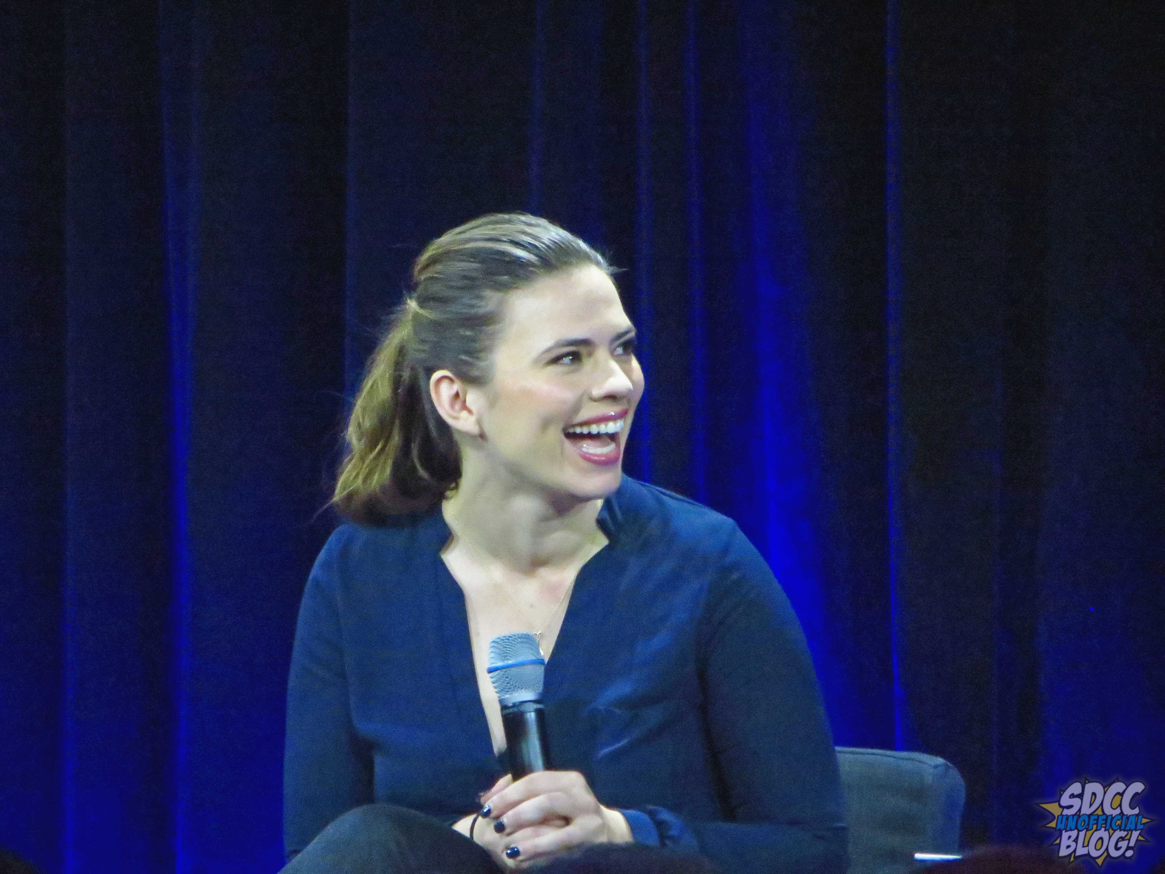 nerd hq hayley atwell marvel tv panel