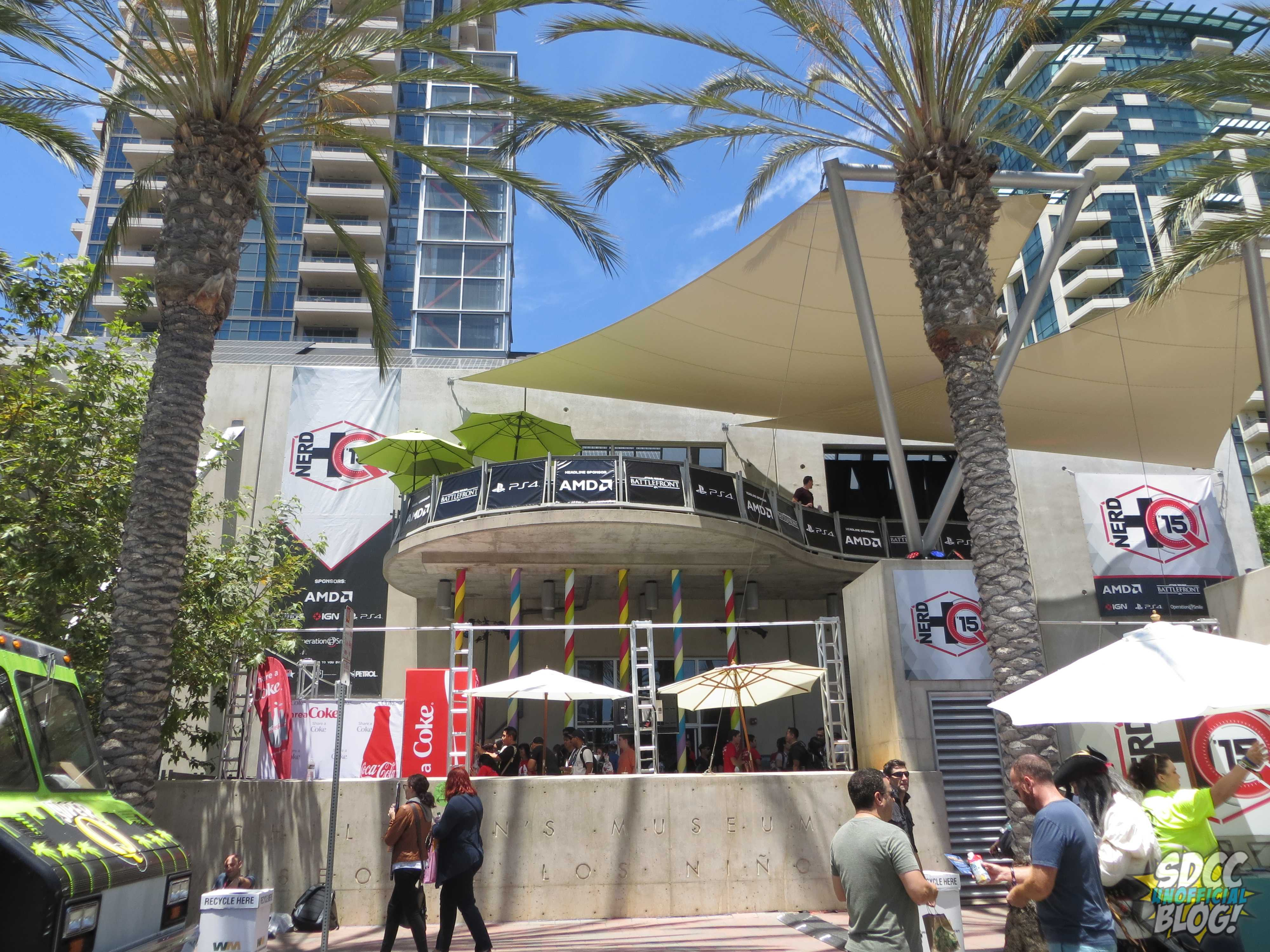 Nerd Hq 2015 New Location Offered Sdcc Attendees More Than Ever Before San Diego Comic Con Unofficial Blog
