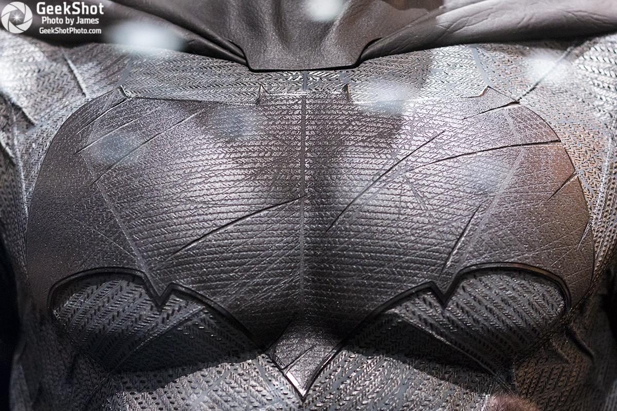 GeekShot Exclusive Series Vol 2 Week 29 A - Batman Batman v Superman Dawn of Justice logo costume prop