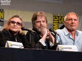 GeekShot Exclusive Series Vol 2 Week 30 - Star Wars The Force Awakens Episode VII Carrie Fisher Mark Hamill Harrison Ford Luke Leia Skywalker Han Solo