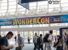 WonderCon sign signage WonderCon 2016 LA los angeles march