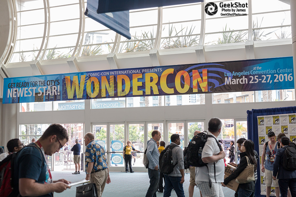 WonderCon sign signage WonderCon 2016 LA los angeles march