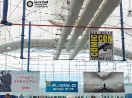 SDCC 2015 - sign signage ballroom 20 room 21-33 penny dreadful game of thrones sails showtime hbo got  convention center