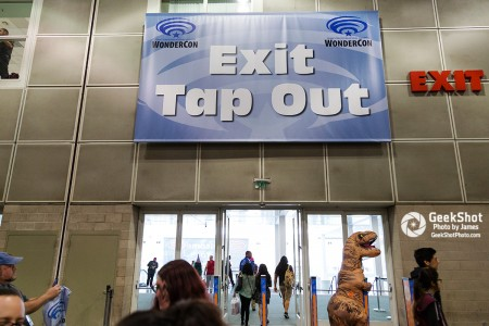 Exit/ RFID Tap Out at WonderCon