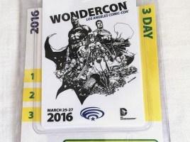 WonderCon 2016 Badge and RFID