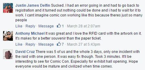 RFID at WonderCon