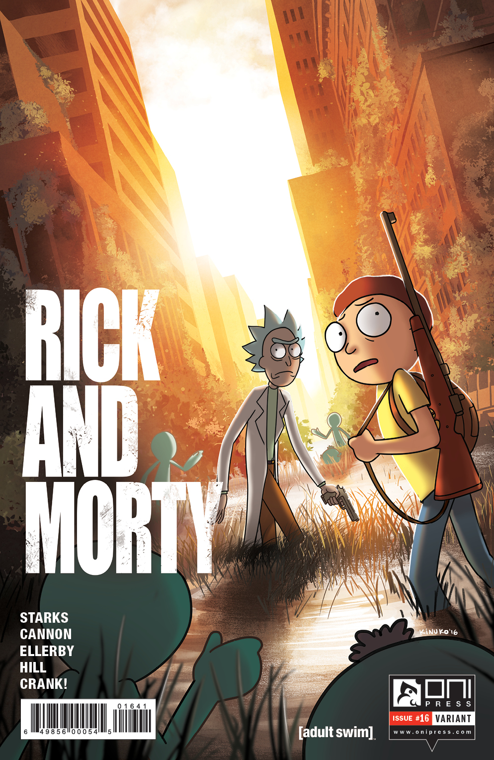 RICKMORTY #16 GENCON VARIANT