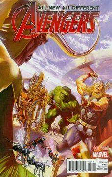Avengers #1 homage