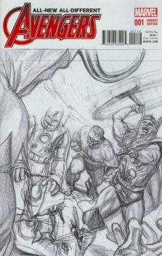 Avengers #1 homage sketch