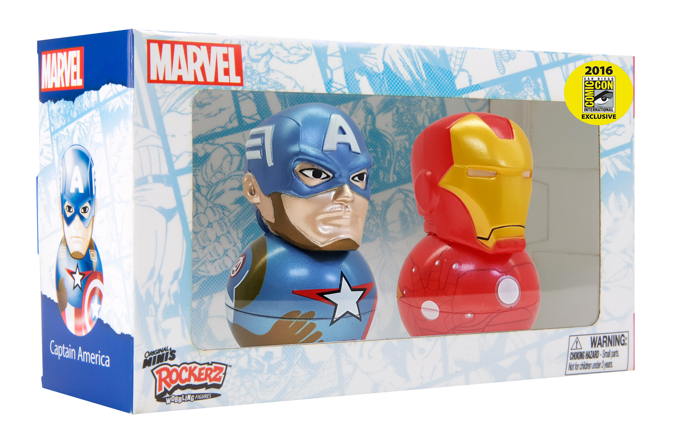 Captain America and Iron Man Rockerz