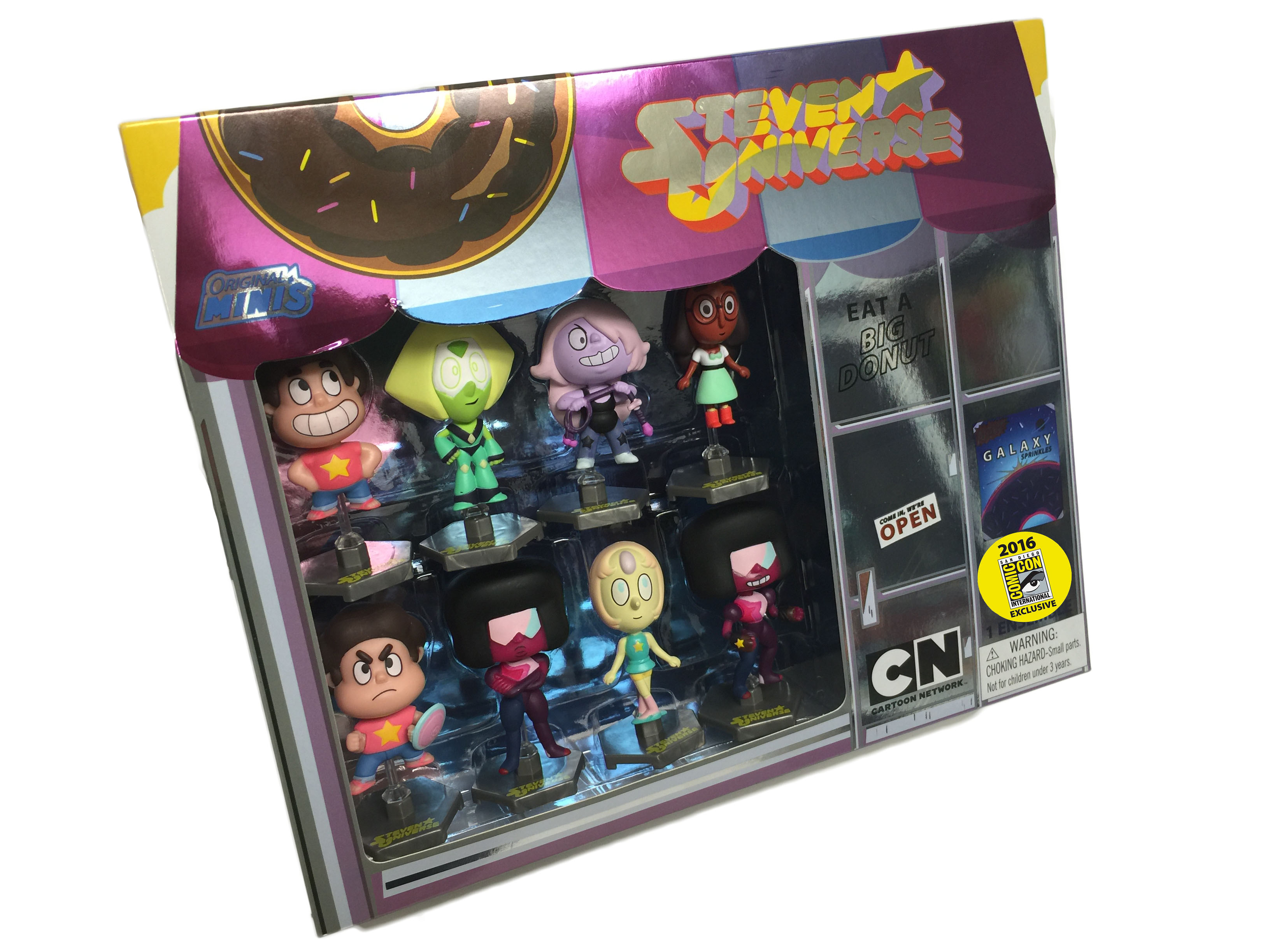 Steven Universe 8 piece figure set