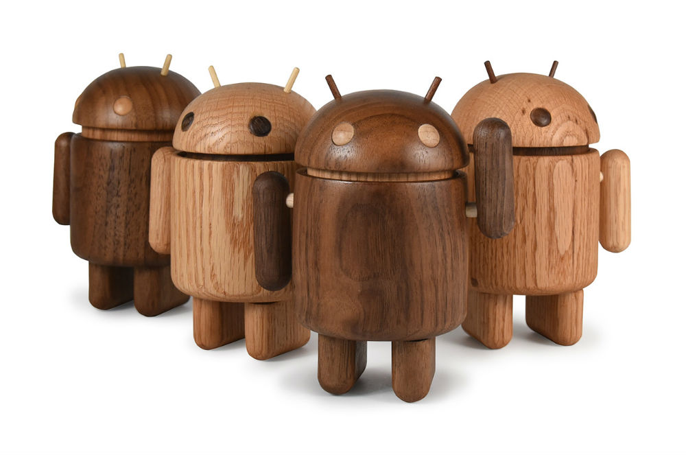 Wooden Android Minis