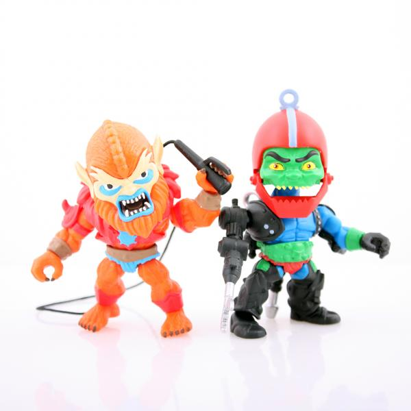 Beastman + Trap Jaw Toy Color 2 Pack