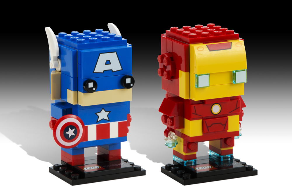 July 24th- Captain America and Iron Man