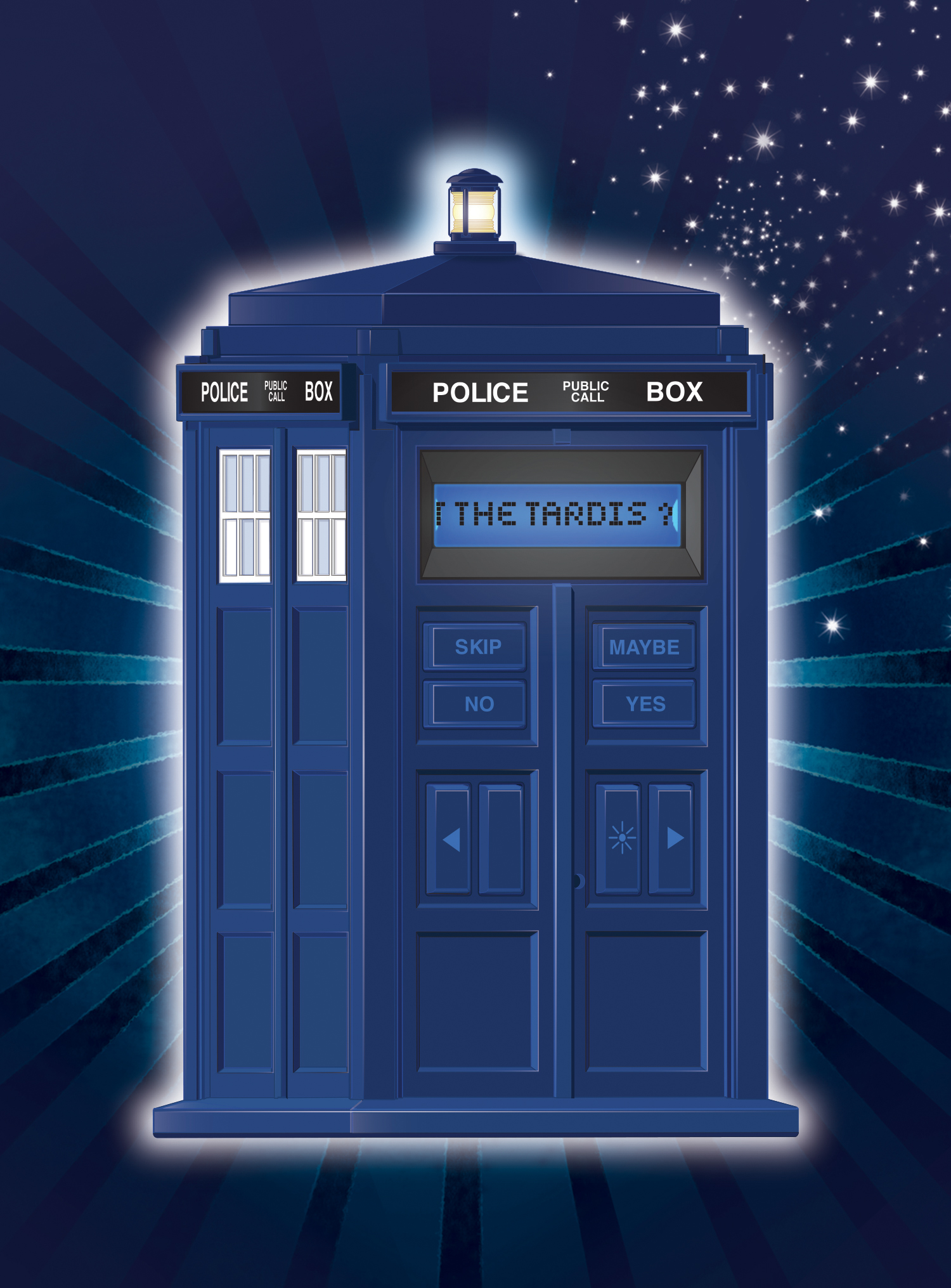Doctor Who Tardis 20Q - hi-res