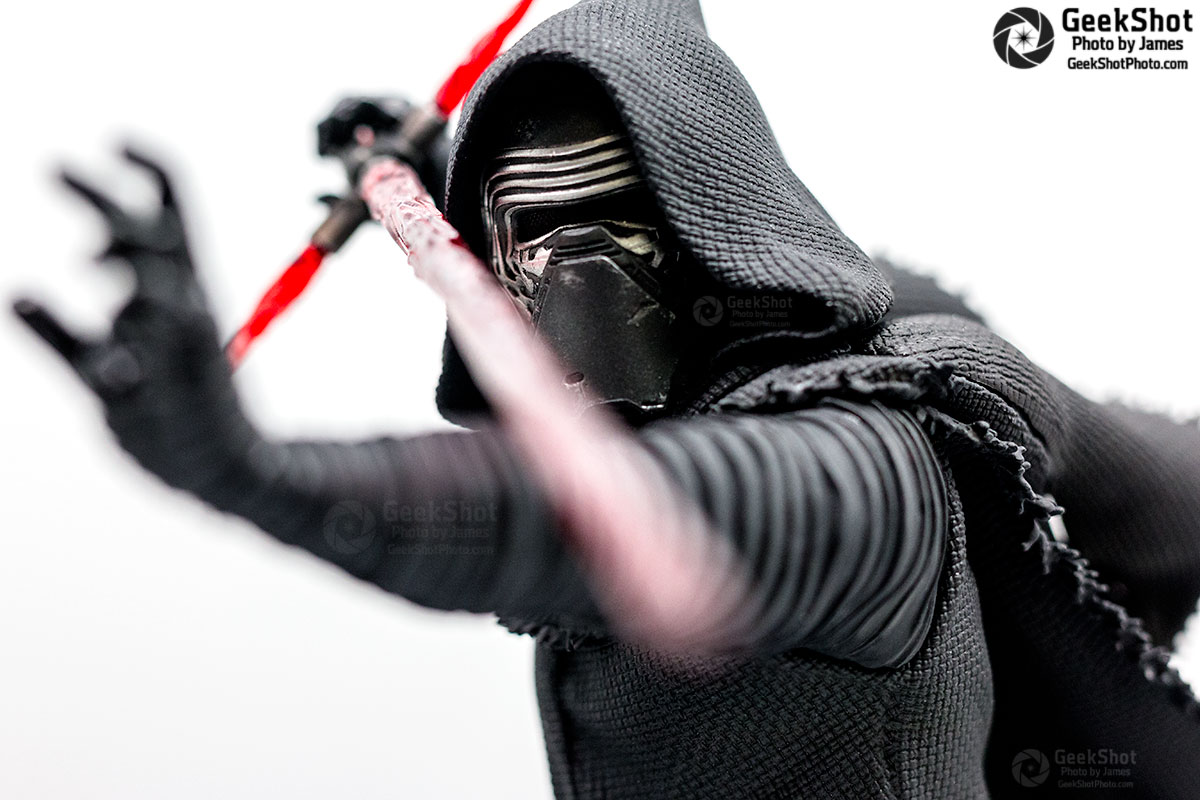 GeekShot Exclusive Photo Series Vol. 3 (Week 20) - Kylo Ren Kotobukiya ARTFX Statue Star Wars The Force Awakens