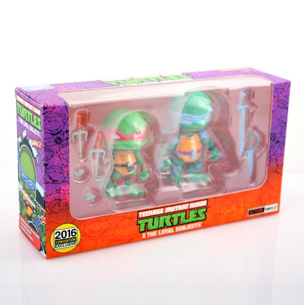 "*Nickelodeon Exclusive ""Slash + Raphael"" 2 Pack"