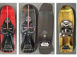 Exclusive Star Wars Skateboards