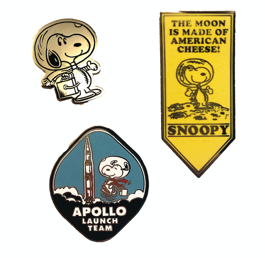PEANUTS Snoopy Astronaut Patch SDCC 2019 Comic Con EXCLUSIVE NEW