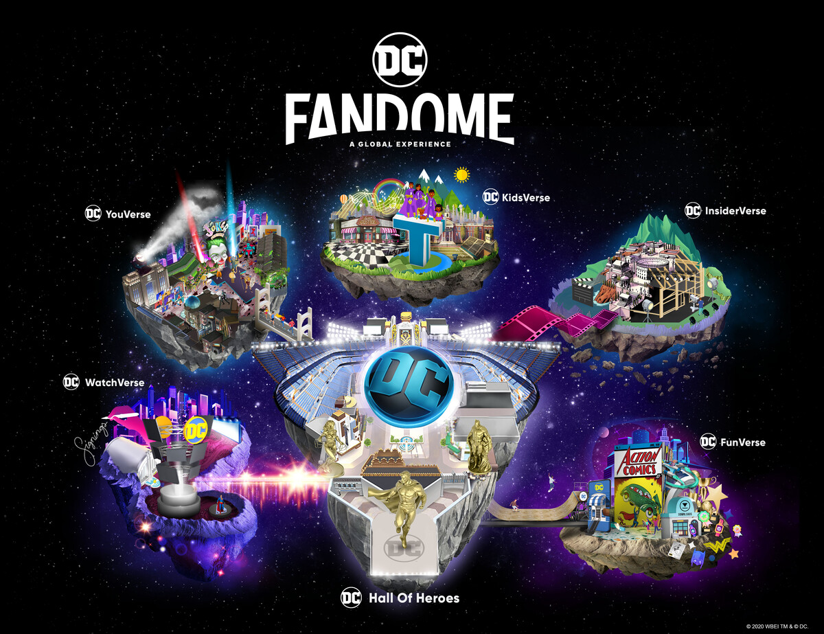 DC Launches Virtual